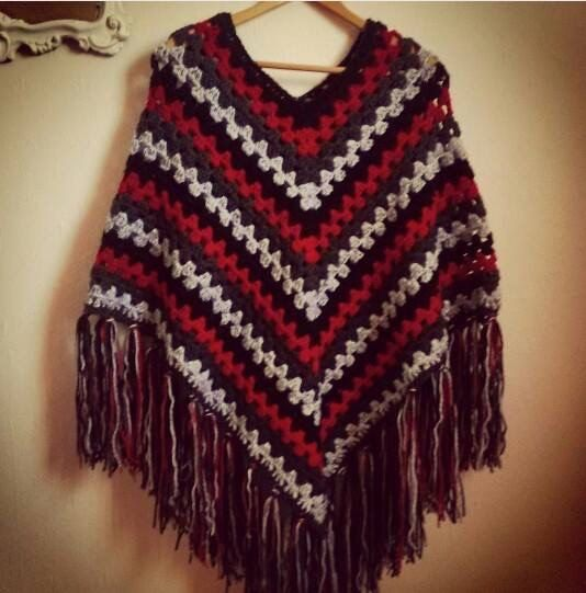 Check out this item in my Etsy shop https://www.etsy.com/ie/listing/253644743/ladies-poncho