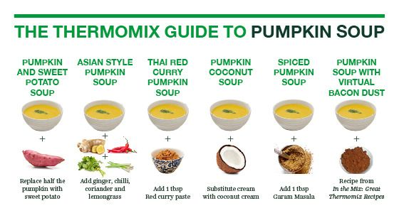Pumpkin soup variations