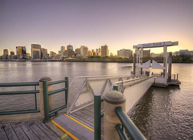 Southbank ramp, Brisbane 7 bracket HDR, Nikon D800 + 14-24mm by Luke Zeme Photography, via Flickr