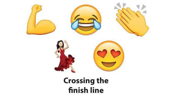 Running A Half Marathon As Told By Emojis Dance Emoji Clap Emoji Crying Emoji