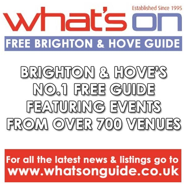 The What's On Guide Brighton & Hove is the only FREE monthly magazine to feature over 700 venues in Brighton & Hove!! With additional editorials picking the best from the crop, we make sure you don't miss out on a thing!    Regular Monthly Features Include:  Monthly Focus // Future Events // Eating Out // Culture & Events // Sports & Adventure // Film Club // Bar Life // Live Music // Summer Festivals // Club Life    For listings go to: http://www.whatsonguide.co.uk/brighton/