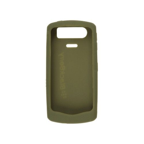 BlackBerry Rubberized Skin for BlackBerry Pearl 8120, 8130, 8110 (Olive Green)