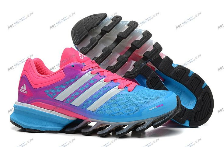 2014 Springblade II Sky Blue Pink Women's Running shoes adidas online