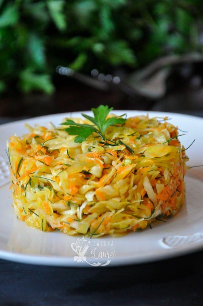 Salata de varza cu morcov si marar via @casutalaurei, salata simpla dar delicioasa bine asezonata, diferenta sta in detalii