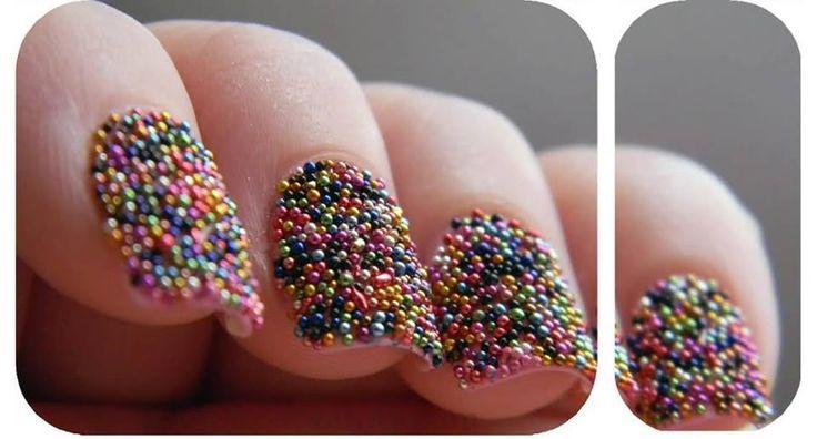 Decoración para uñas Caviar