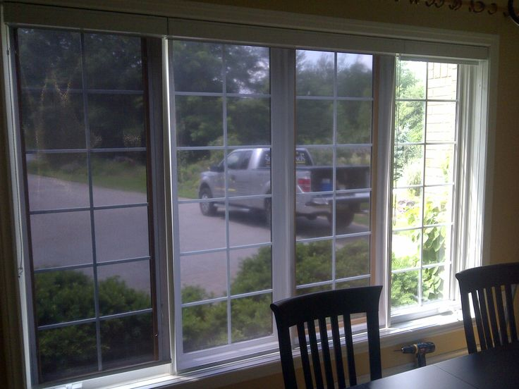 Our customer was having a huge issue with the Sun's heat and blinding glare. She ordered the Bronze/Silver Sun Shades with white valance cassettes that block 92% of Solar Heat, 97% of Glare and 99.8% of UV. The most amazing part she can still see clear to the outside.