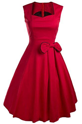 Yacun Women's Vintage 1940's Square Neck Bowknot Swing Casual Party Dress #Bridesmaid-Dresses http://www.weddingdealusa.com/yacun-womens-vintage-1940s-square-neck-bowknot-swing-casual-party-dress/16444/?utm_source=PN&utm_medium=jillweddings+-+bridesmaid+dresses&utm_campaign=Wedding+Deal+USA