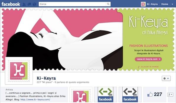 Nuova copertina su Facebook per Ki-Keyra