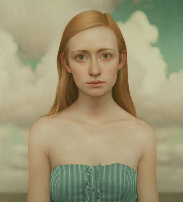 Lu Cong #art #paintings #portraits http://artsyforager.wordpress.com/2011/10/18/bare-naked-portraits/