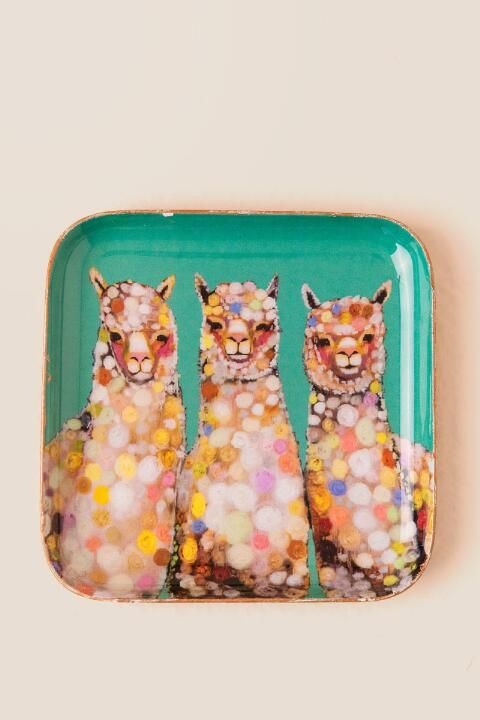 Alpaca Trinket Dish