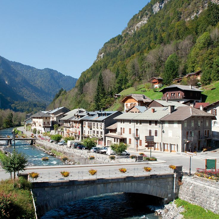 Amenagement du chef-lieu et des quais du Giffre - Sixt Fer A Cheval - CAUE Haute-Savoie