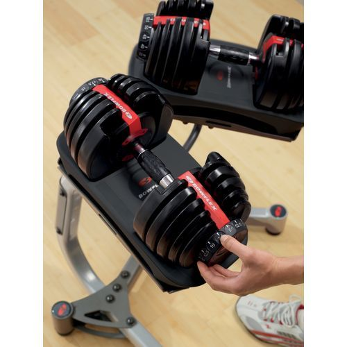 Image for Bowflex® SelectTech® 552 Adjustable Dumbbell Set from Academy