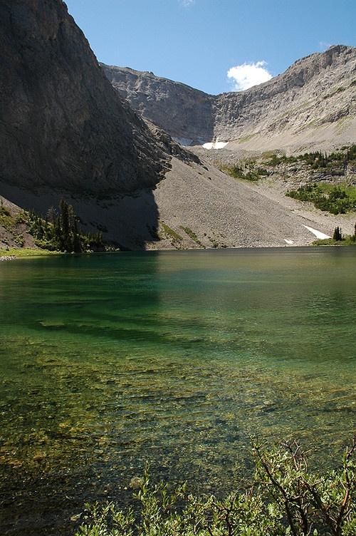 Window Mountain Lake - Crowsnest Pass