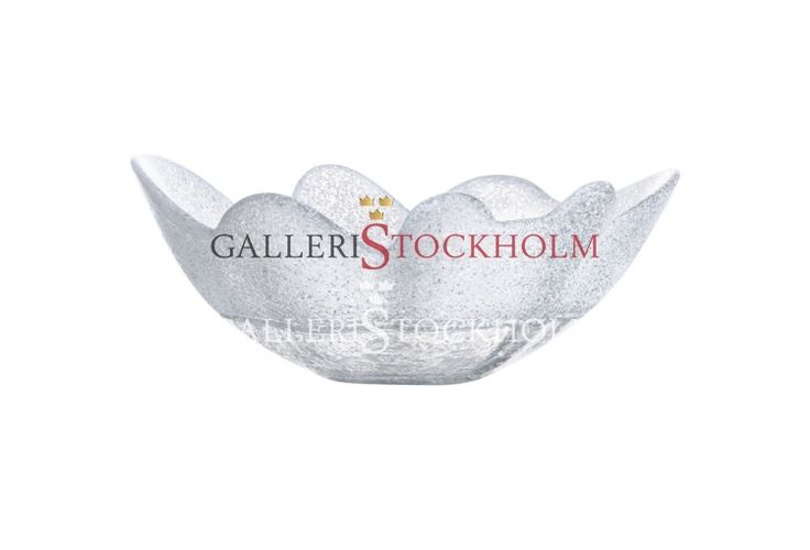 Anna Ehrner - Glaskonst - Organix Skål Frost vit Kosta Boda Beställ här! Klicka på bilden.
