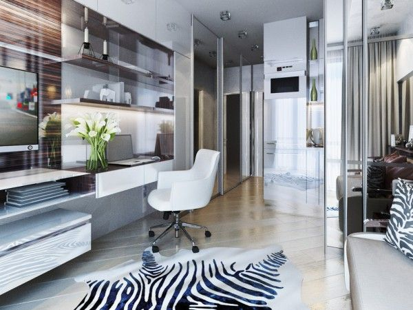 615 best Small spaces images on Pinterest | Living room, Small ...