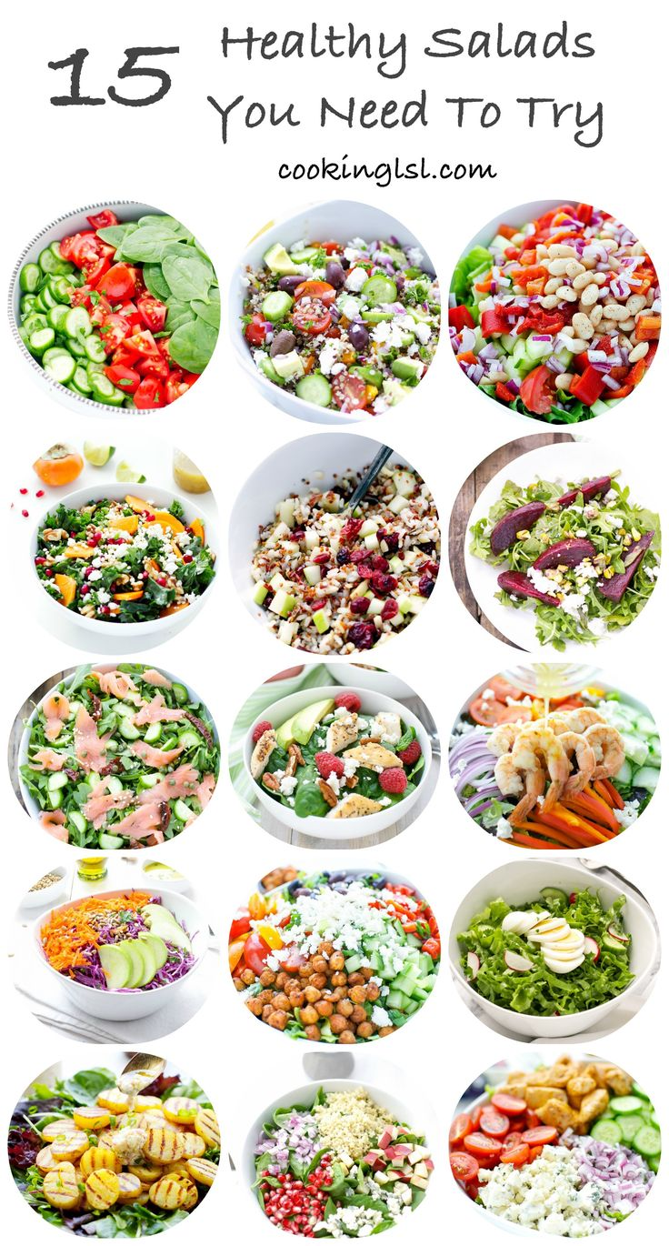 15 Salads You Need To Try – A collection of some of CookingLSL's salad recipes. If you love salads or need recipe ideas, you might like this collection! Tomato Cucumber And Spinach Salad With Avocado Parsley Dressing   Village Salad   Arugula Smoked Salmon And Cucumber Salad   Kale Persimmon Salad   Roasted Beet Salad …