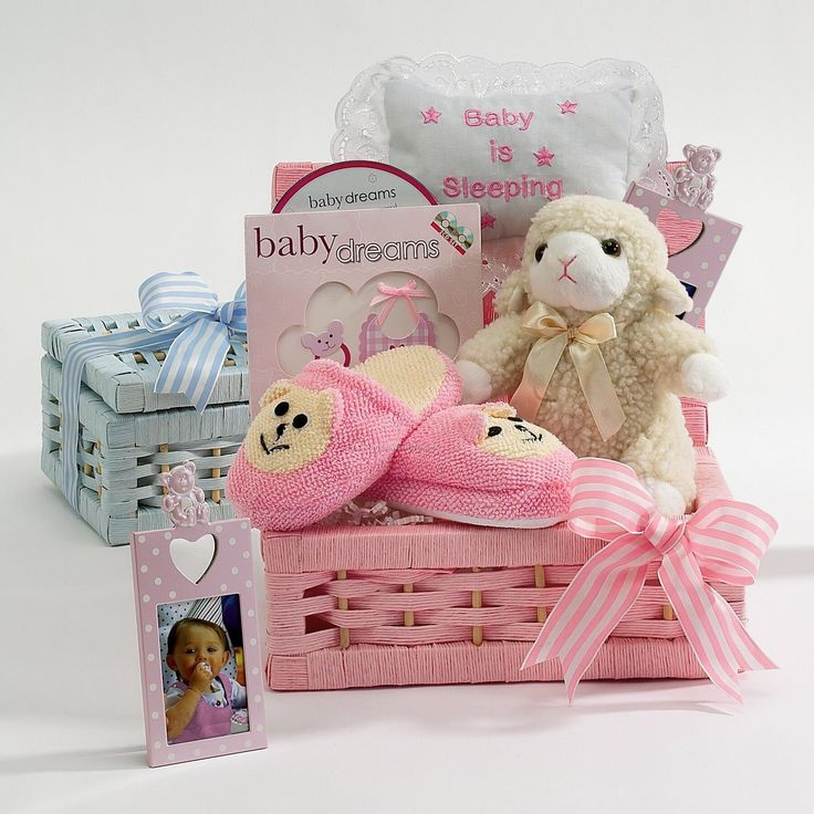 Baby Shower Gift Basket, Baby Shower Baskets And