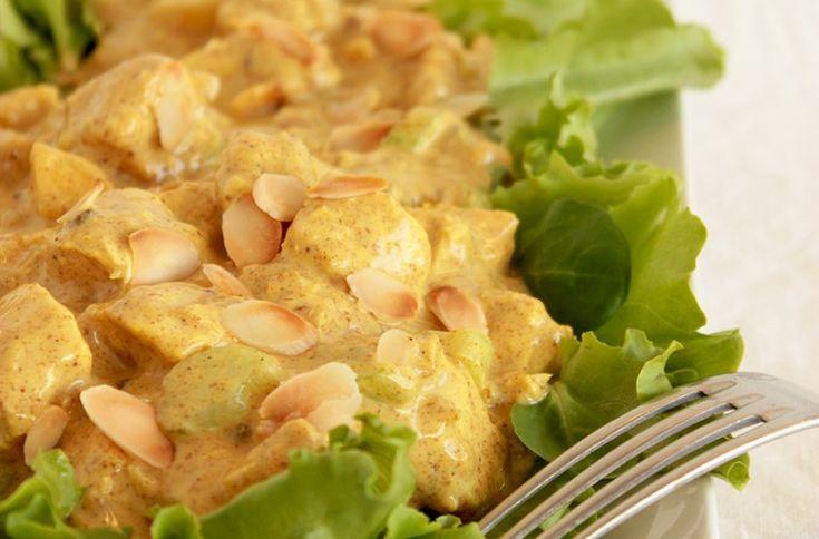 Coronation Chicken - The easy and original recipe - thepetitecook.com