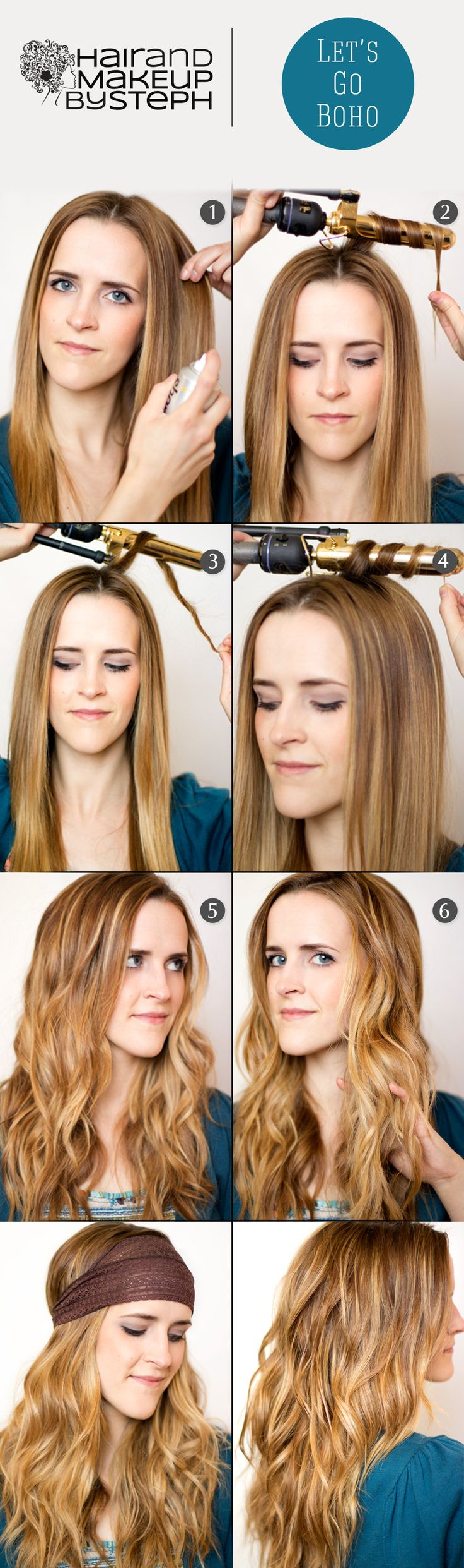 How to:  Boho Waves.  so want to try this with my hair! :)