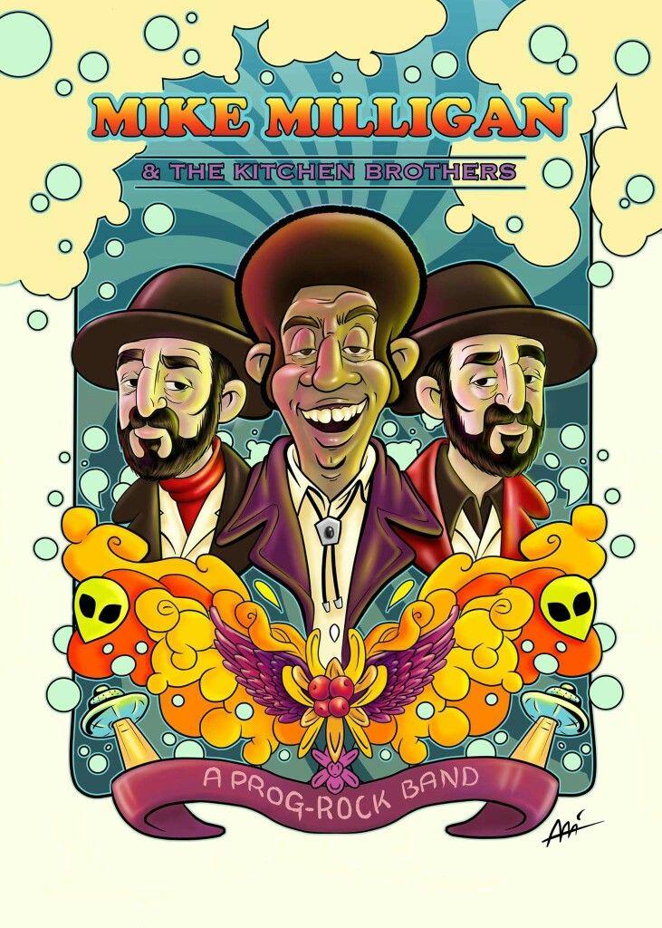 Mike Milligan & the Kitchen Brothers by Ali del Rey ilustra #fargo #fanart #alidelreyilustra #mikemilliganandthekitchenbrothers