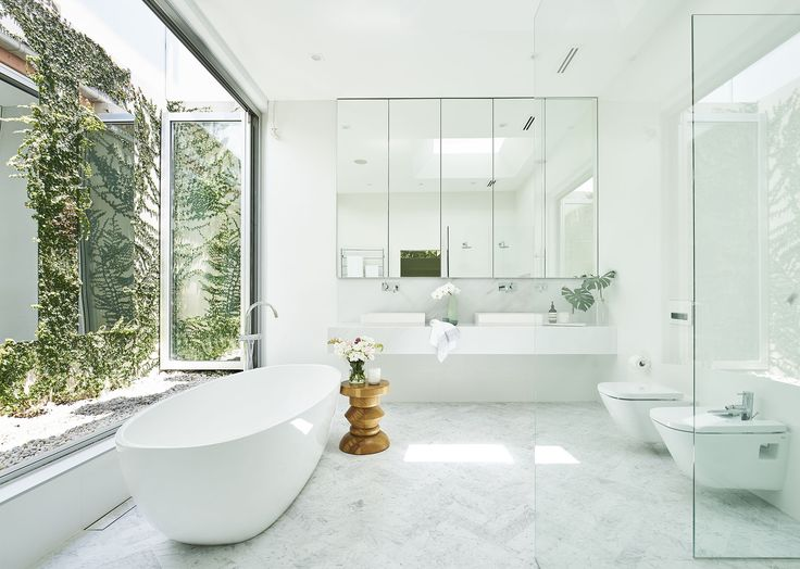 Photographic Gallery Award winning marble ensuite renovation with private courtyard in Sydney home Photography John