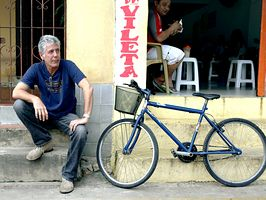 Anthony Bourdain : No Reservations : Travel Channel He may not look it, but one of the coolest dudes on the planet.