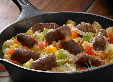 Use with italian sausage - Johnsonville Easy Breakfast Skillet