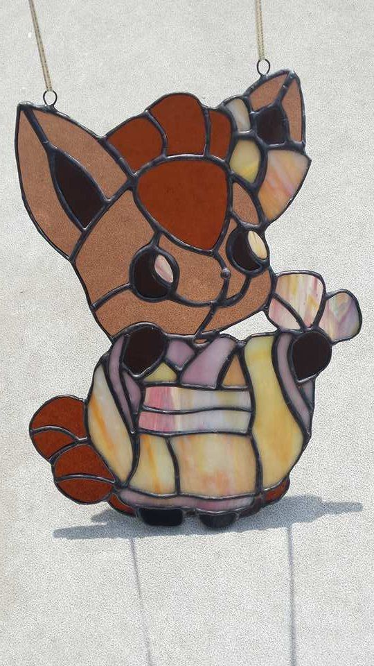 Vulpix ~ Pokémon ~ Stained Glass ~ RannDago