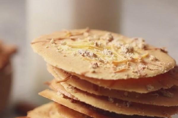 Resep Almond Crispy Cookies Ala Yummy Camilan Seru Buat Di Rumah Di 2020 Camilan Cemilan Almond