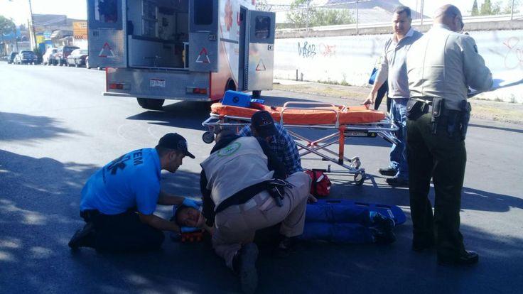 Un bebé y su madre resultaron con golpes luego de ser atropellados en la Santa Rosa   El Puntero