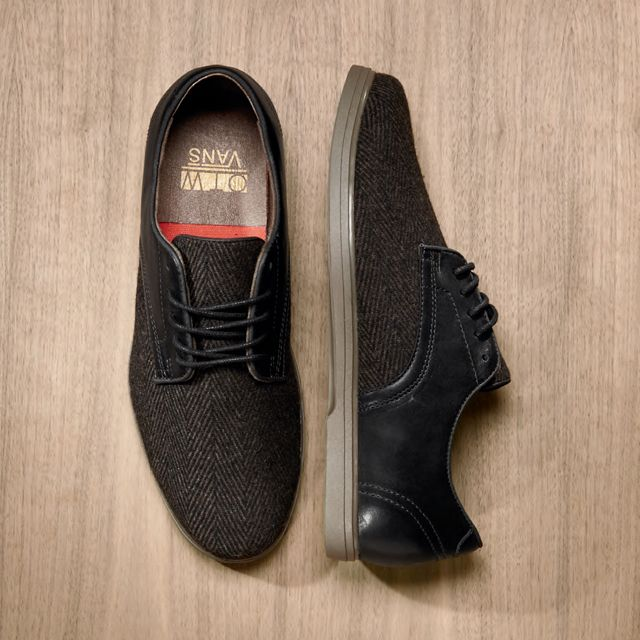 Vans OTW Tweed Pritchard - I wonder if I could get away with these with a suit...