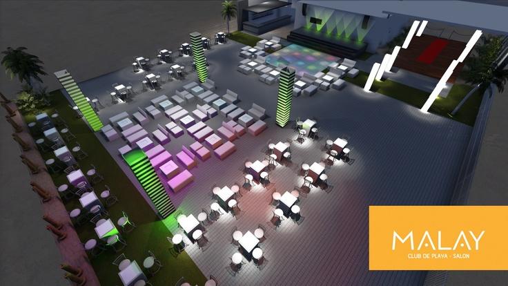 Montajes Lounge espectaculares para tus eventos !!