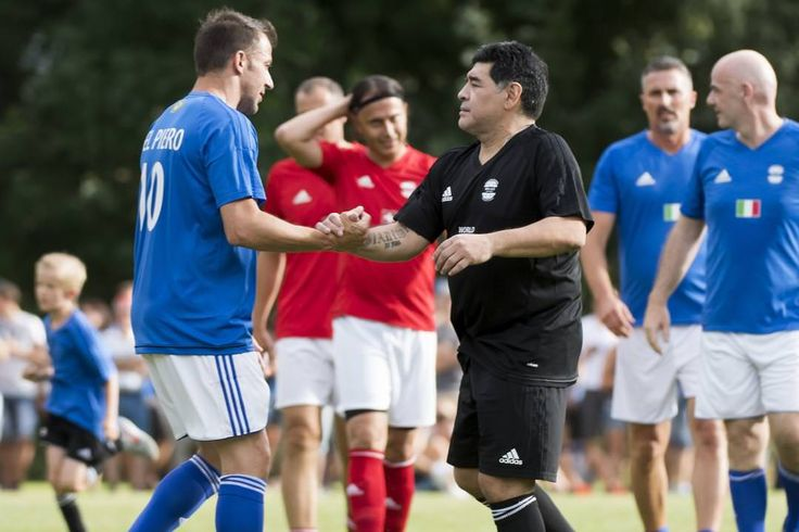 A vanity football game for Infantino in his home town.