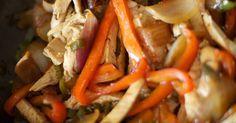9 recetas fáciles y deliciosas. Relleno para tacos o fajitas de carne asada, Relleno para tacos o fajitas y muchas más