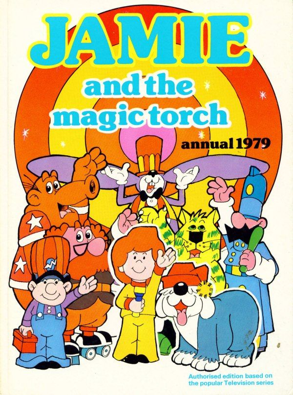 Can you remember the funky theme tune? Jamie, Jamie, Jamie and his magic torch.......