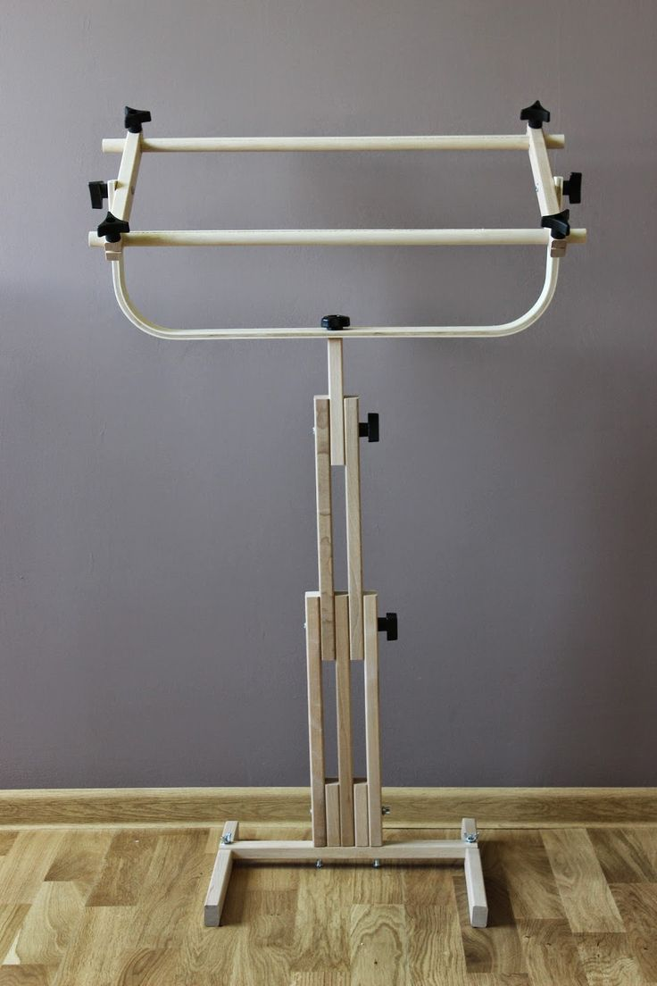 Floor Stand Scroll Frame F.A. Edmunds