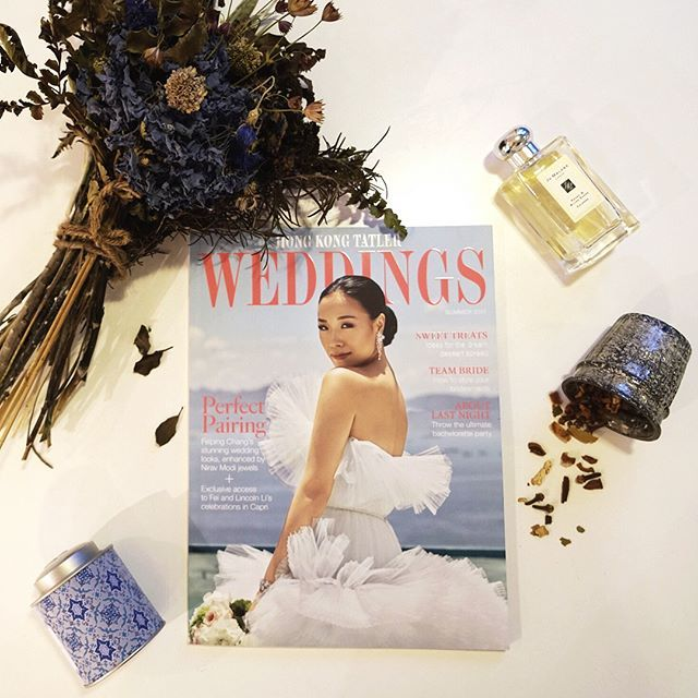 Hong Kong Tatler Weddings is out featuring @xoxofei - swipe for more #BTS from our all-day shoot at the @peninsulahongkong (yes a helicopter was involved ) and grab your copy at news stands today. Photographer: @jasoncapobiancophotography Makeup by: @smudgemakeupartistry Hair by: @dannihair29 Jewellery: @niravmodijewels #Wedding #Photoshoot #Fashionista #Weddingdress #weddinginspo  via HONG KONG TATLER MAGAZINE OFFICIAL INSTAGRAM - Celebrity  Fashion  Haute Couture  Advertising  Culture…