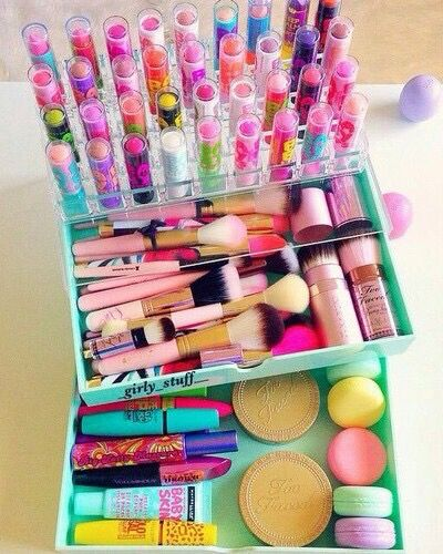 When you're just addicted to makeup and baby lips is your obsession!❤Aleena