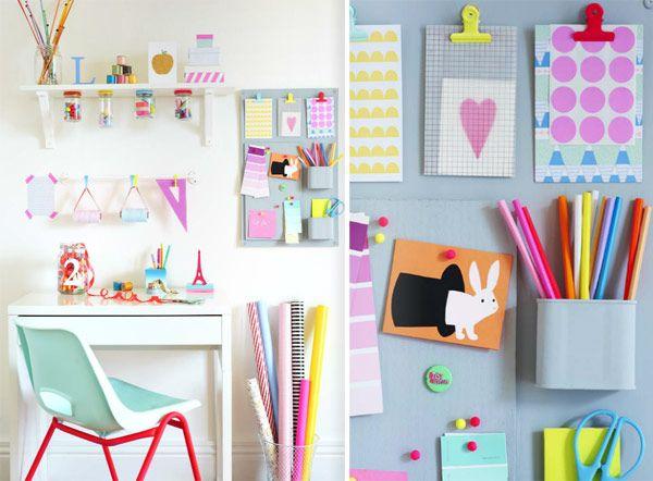 Arredare una camera da bambina con il fai-da-te e riciclando