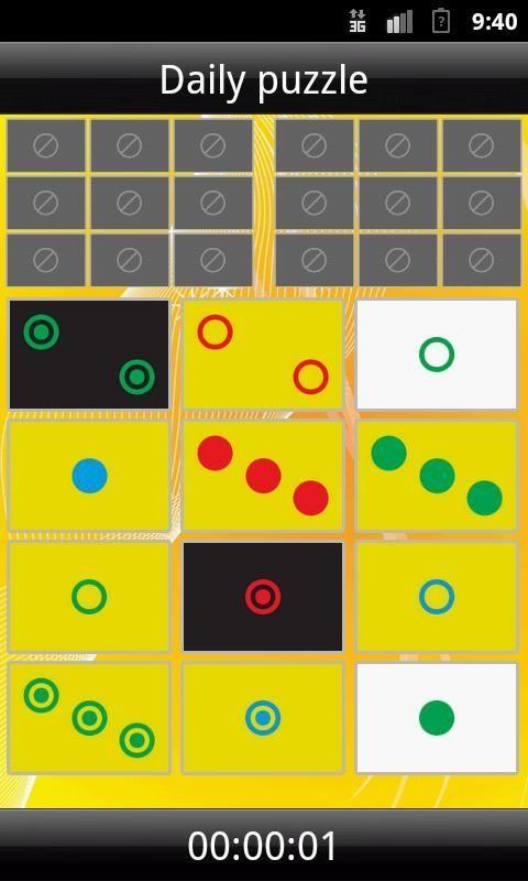Egy perc Terc!<br><br>Elkészült ennek a nagyszerű játéknak az okostelefonos változata. Ha van pár perced előkaphatod és máris keresheted a terceket akár a napi feladványban akár egy előre kiválasztott leosztásban. A játékszabály egyszerű, könnyű elsajátítani. A játék nem csak időtöltésre hanem koncenttáció fejlesztésére is kitűnő!<br><br>Jó szórakozást!<br><br>Content rating: Everyone