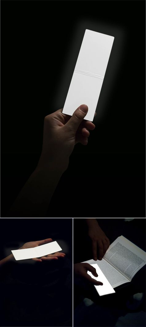 A leaf of light, thin as a page of a book, to enlighten rooms and tents, maps and books. Wireless,  rechargeable, autonomous. With adjustable brightness, private or shared light, for those who read and travel everywhere.