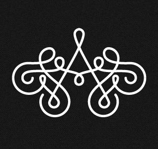 Designspiration — Dribbble - Ana Types Type Monogram by Ana Types Type