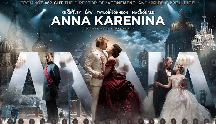 """Keira Knightley & Jude Law in """"Anna Karenina"""""""