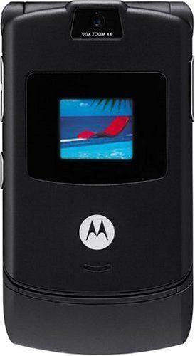 Motorola RAZR V3 Unlocked Phone with Camera, and Video Player--International Version with No Warranty (Black)
