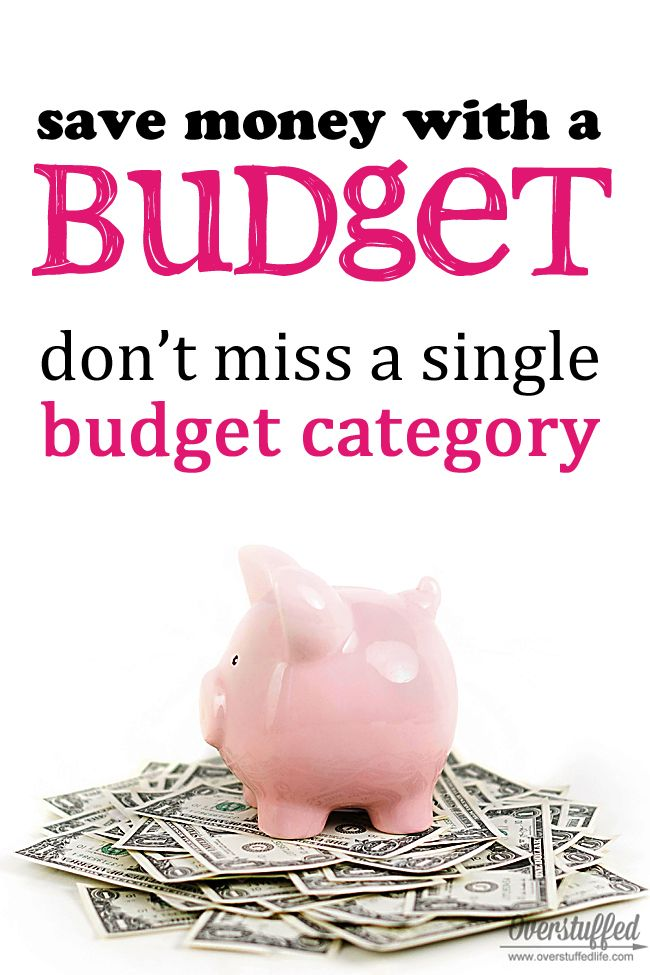 Steps to Financial Peace: Our Budget Categories