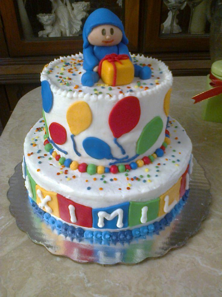 Pastel Pocoyo cumpleaños
