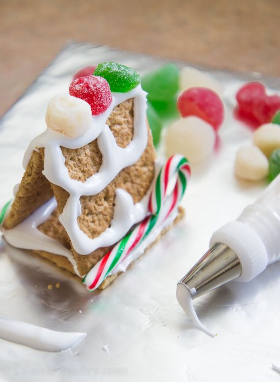 how to make royal icing recipe gingerbread houses eggs and house. Black Bedroom Furniture Sets. Home Design Ideas