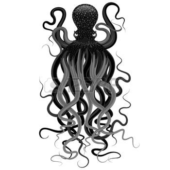 octopus: Poulpe Illustration