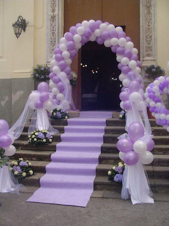 Amato Oltre 25 fantastiche idee su Palloncini matrimonio su Pinterest  MQ83