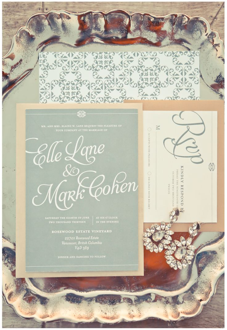 43 best dbd invitations images on pinterest modern romance collaboration with dash of blonde design by dainty jewelry by elsa corsi stopboris Gallery
